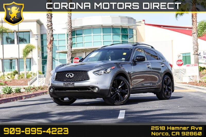 2017 Infiniti QX70 for sale in Norco, CA