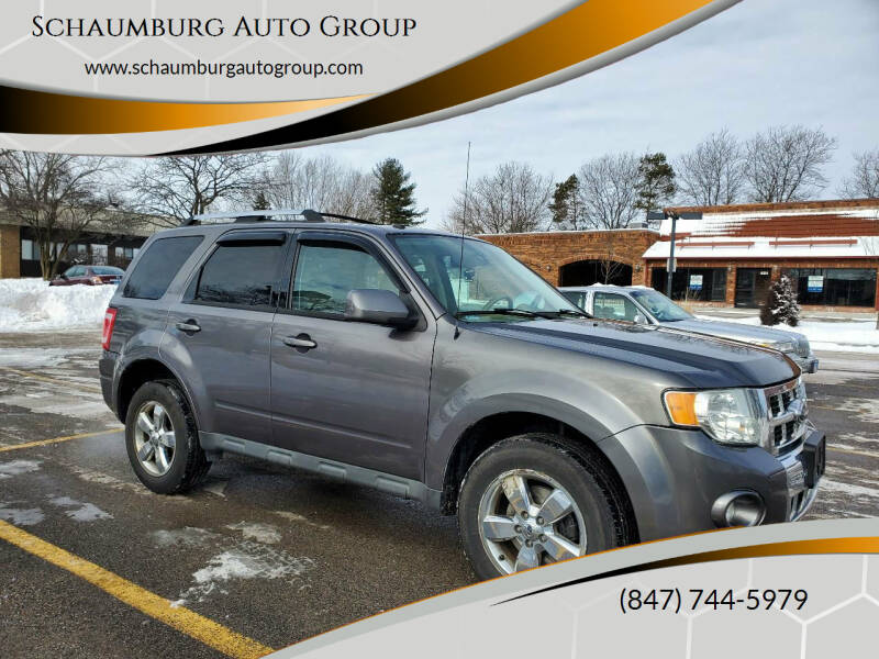 2010 Ford Escape for sale at Schaumburg Auto Group in Schaumburg IL