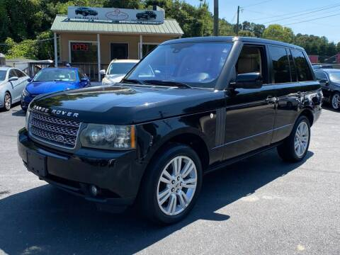 2010 Land Rover Range Rover for sale at Luxury Auto Innovations in Flowery Branch GA