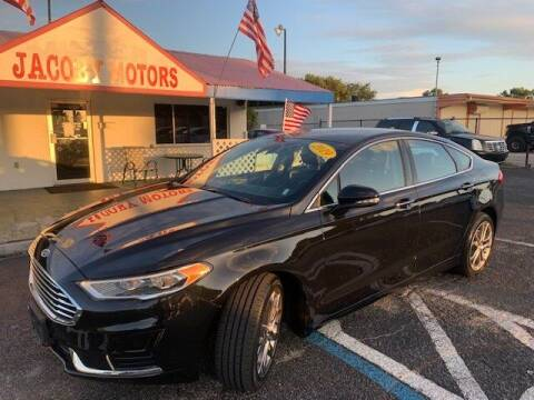 2019 Ford Fusion for sale at Jacoby Motors in Fort Myers FL