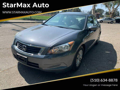 2008 Honda Accord for sale at StarMax Auto in Fremont CA