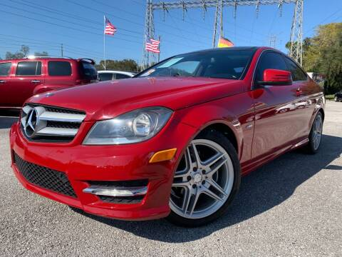 2012 Mercedes-Benz C-Class for sale at Das Autohaus Quality Used Cars in Clearwater FL