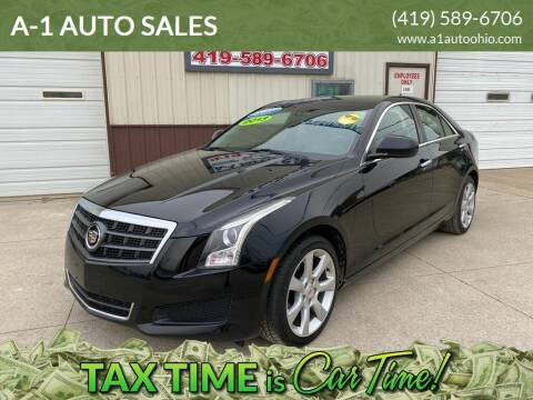 2013 Cadillac ATS for sale at A-1 AUTO SALES in Mansfield OH