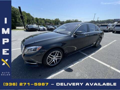 2014 Mercedes-Benz S-Class for sale at Impex Auto Sales in Greensboro NC