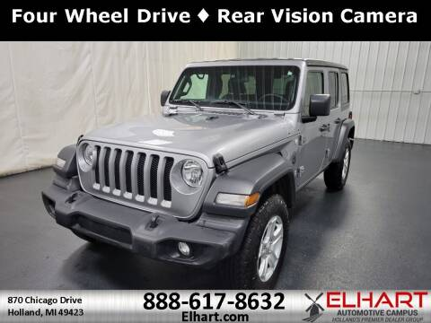 2018 Jeep Wrangler Unlimited for sale at Elhart Automotive Campus in Holland MI