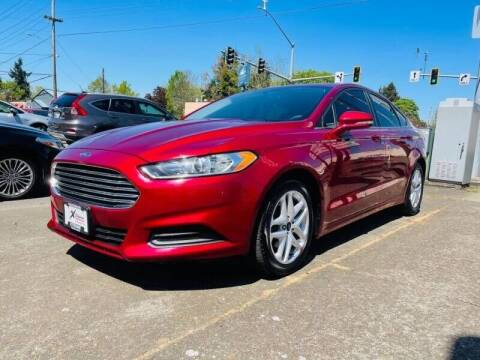 2016 Ford Fusion for sale at Xtreme Truck Sales in Woodburn OR