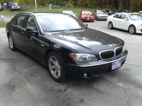 2007 BMW 7 Series for sale at Quest Auto Outlet in Chichester NH