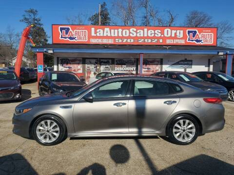 2016 Kia Optima for sale at LA Auto Sales in Monroe LA