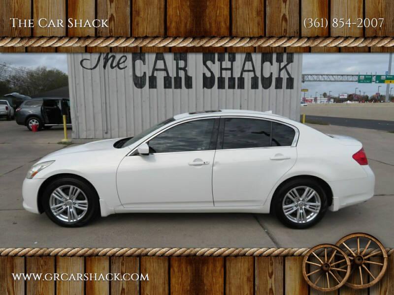 2011 Infiniti G25 Sedan for sale at The Car Shack in Corpus Christi TX