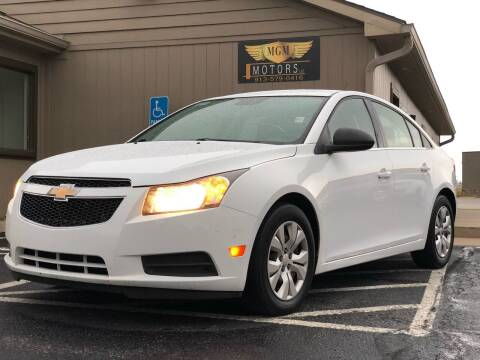 2012 Chevrolet Cruze for sale at MGM Motors LLC in De Soto KS