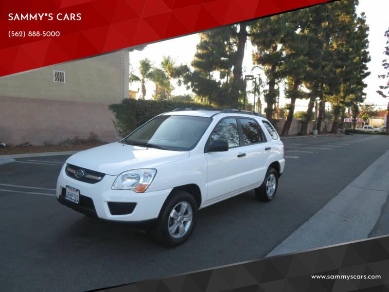 "2010 Kia Sportage for sale at SAMMY""S CARS in Bellflower CA"