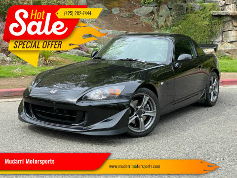 2008 Honda S2000 for sale at Mudarri Motorsports in Kirkland WA