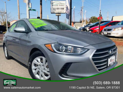 2017 Hyundai Elantra for sale at Salem Auto Market in Salem OR