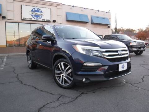 2016 Honda Pilot for sale at Platinum Auto Sales in Provo UT