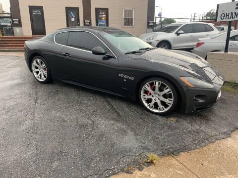 2012 Maserati GranTurismo for sale at A & R Motors in Richmond VA
