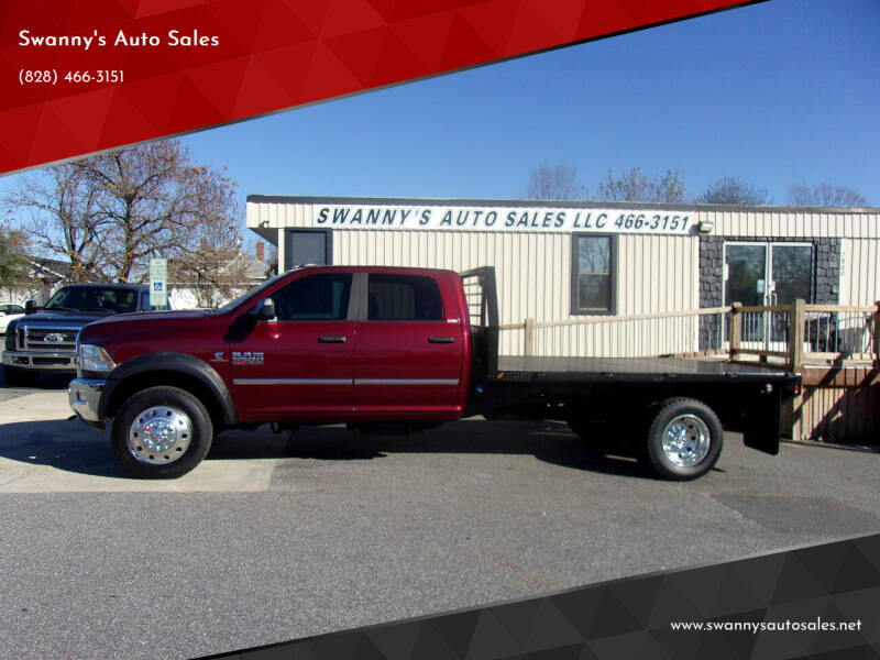 2017 RAM Ram Chassis 5500 for sale at Swanny's Auto Sales in Newton NC
