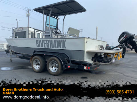 2008 RiverHawk CenterConsole for sale at Dorn Brothers Truck and Auto Sales in Salem OR
