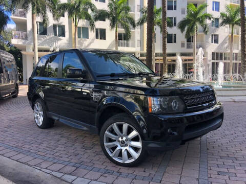 2013 Land Rover Range Rover Sport for sale at Florida Cool Cars in Fort Lauderdale FL