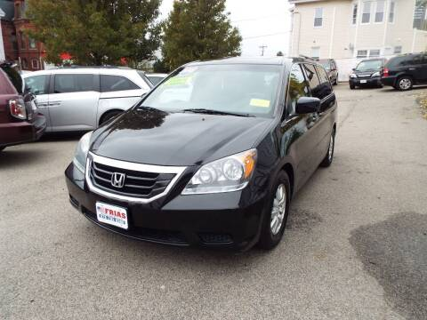 2010 Honda Odyssey for sale at FRIAS AUTO SALES LLC in Lawrence MA