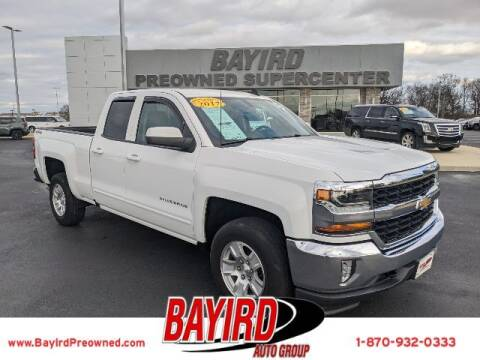 2017 Chevrolet Silverado 1500 for sale at Bayird Truck Center in Paragould AR