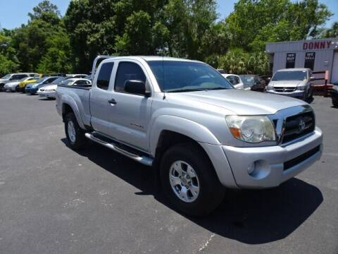 2006 Toyota Tacoma for sale at DONNY MILLS AUTO SALES in Largo FL