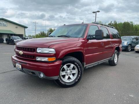 2004 Chevrolet Suburban for sale at Lakes Area Auto Solutions in Baxter MN