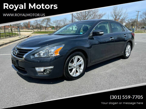 2013 Nissan Altima for sale at Royal Motors in Hyattsville MD
