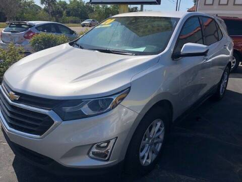 2020 Chevrolet Equinox for sale at DUNEDIN AUTO SALES INC in Dunedin FL