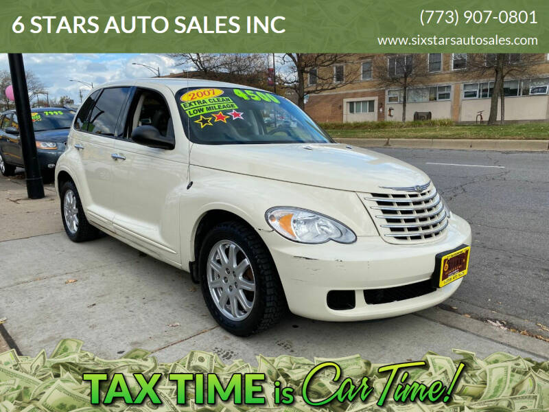 2007 Chrysler PT Cruiser for sale at 6 STARS AUTO SALES INC in Chicago IL