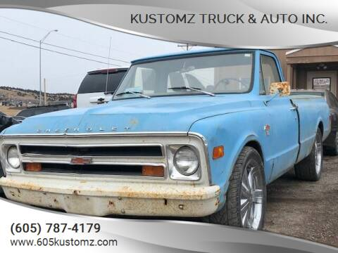 1968 Chevrolet C/K 10 Series for sale at Kustomz Truck & Auto Inc. in Rapid City SD