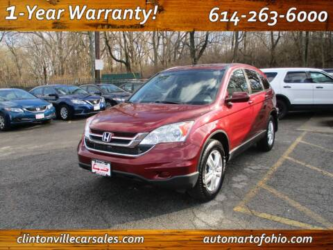 2010 Honda CR-V for sale at Clintonville Car Sales in Columbus OH