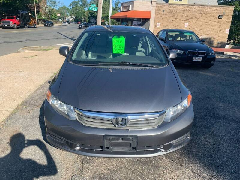 2012 Honda Civic for sale at Arlington Auto Brokers in Arlington MA