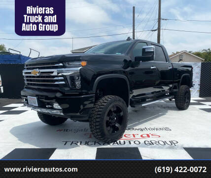 2020 Chevrolet Silverado 2500HD for sale at Rivieras Truck and Auto Group in Chula Vista CA