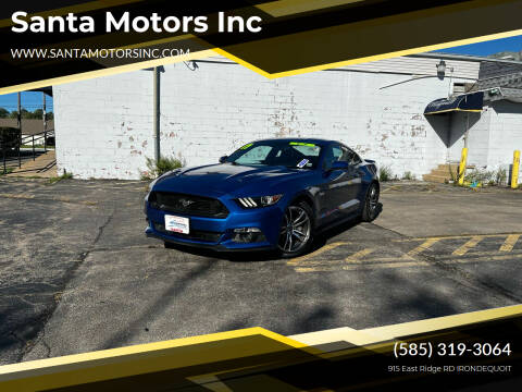 2017 Ford Mustang for sale at Santa Motors Inc in Rochester NY