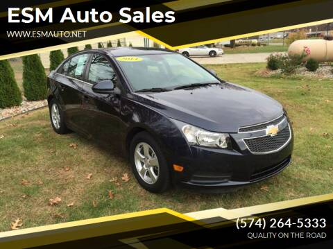 2014 Chevrolet Cruze for sale at ESM Auto Sales - Consignment in Elkhart IN
