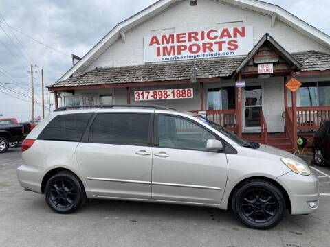 2005 Toyota Sienna for sale at American Imports INC in Indianapolis IN