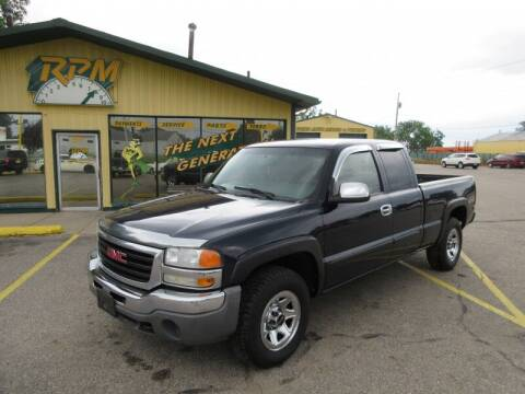 2007 GMC Sierra 1500 Classic for sale at RPM AUTO SALES in Lansing MI