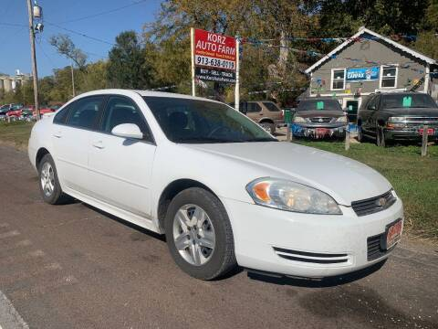 2011 Chevrolet Impala for sale at Korz Auto Farm in Kansas City KS