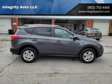2015 Toyota RAV4 for sale at Integrity Auto 2.0 in Saint Albans VT