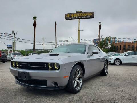 2015 Dodge Challenger for sale at A MOTORS SALES AND FINANCE in San Antonio TX
