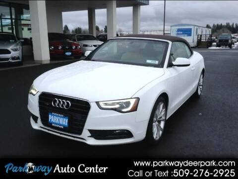 2013 Audi A5 for sale at PARKWAY AUTO CENTER AND RV in Deer Park WA