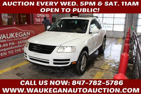 2004 Volkswagen Touareg for sale at Waukegan Auto Auction in Waukegan IL
