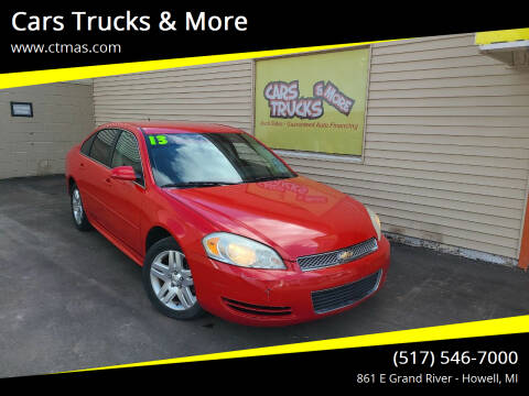 2013 Chevrolet Impala for sale at Cars Trucks & More in Howell MI