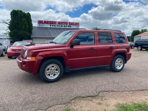 2008 Jeep Patriot for sale at BLAESER AUTO LLC in Chippewa Falls WI