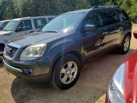 2012 GMC Acadia for sale at Northwoods Auto & Truck Sales in Machesney Park IL