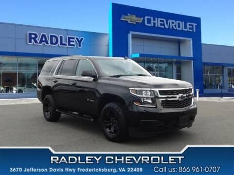 2020 Chevrolet Tahoe for sale at Radley Cadillac in Fredericksburg VA