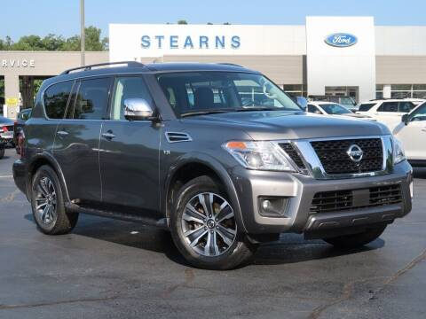 2019 Nissan Armada for sale at Stearns Ford in Burlington NC