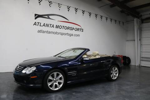 2006 Mercedes-Benz SL-Class for sale at Atlanta Motorsports in Roswell GA
