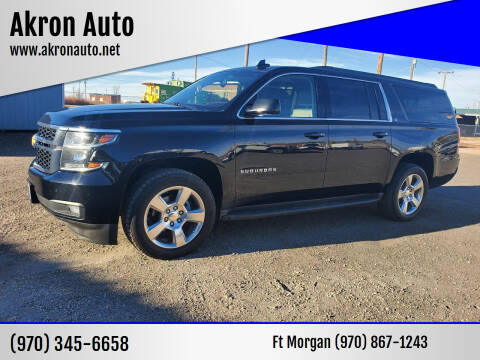 2015 Chevrolet Suburban for sale at Akron Auto in Akron CO