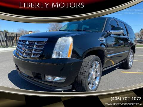 2008 Cadillac Escalade for sale at Liberty Motors in Billings MT